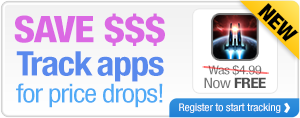 Save $$$ Track apps for price drops!